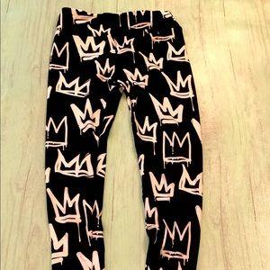 Lularoe crown leggings, OS